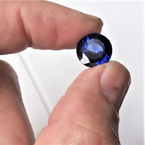 Raríssima Safira Azul Da Caxemira Pedra Preciosa / 7,6cts
