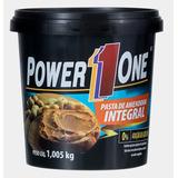 Pasta De Amendoim Power1one 100% Natural E Integral,