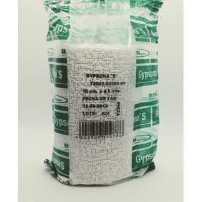 Venda De Yeso Gypsona 10cmx4m Paquete 4 Piezas