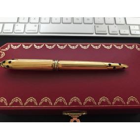 Cartier Panthere Caneta Ballpoint Dourado