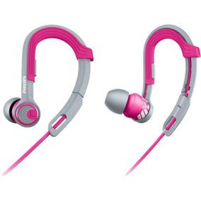 Fone De Ouvido Esportivo Ajustável Philips Actionfit Rosa