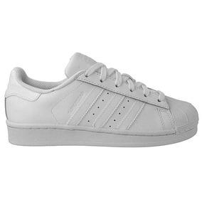 fa7bd76719c Tenis Adidas Superstar Camurça - Tênis Branco no Mercado Livre Brasil