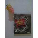 Guitar Hero Warriors Of Rock Ps3 Garantizado