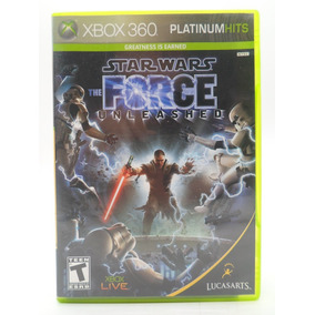 Star Wars The Force Unleashed Xbox 360 Original Mídia Física