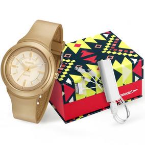 dc3feda4360 Relogio Feminino Speedo Dourado - Relógios De Pulso no Mercado Livre ...