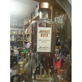 Garrafa Vodka Absolut Elyx Vazia 1500ml [orgulhodoml2] No6