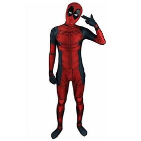 Aovei Kids Onesie Spandex Mask 3d Disfraz Deadpool Talle M fbb52081d416