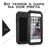 Case iPhone 8 Capa Blindada Anti-shock Resistente Preta