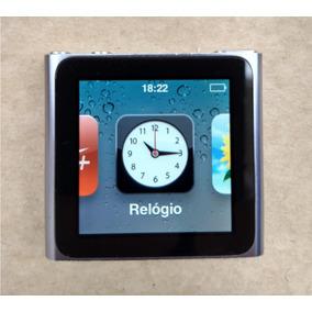 Ipod Nano 6 Geração Rádio 16gb Cinza - Usado - Ótimo - 0ddw4