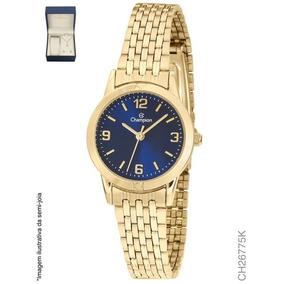 475ddff55f5 Relogio Feminino Azul Marinho Champion - Relógios De Pulso no ...