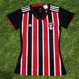 Camisa São Paulo Feminina Listrada ( Pronta Entrega ) 922efef833e5c