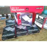 Memory Card Playstation 1 . Original Made In Japan Nuevas
