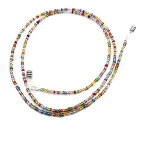 Las Pequeñas Cadenas De Cuentas Coloridas Gafas De Sol Gafas