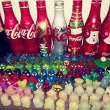 Lote Com 80 Geloucos Coca-cola Peças Para Colecionador