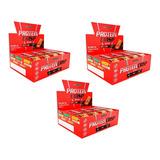 3 Protein Crisp Bar 12 Barra Integral Médica - Todos Sabores