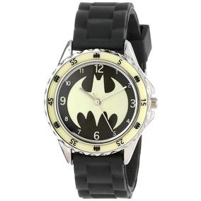 Reloj Batman Para Niño Neopreno Cuarzo Analógico 2f3b0b979ae1