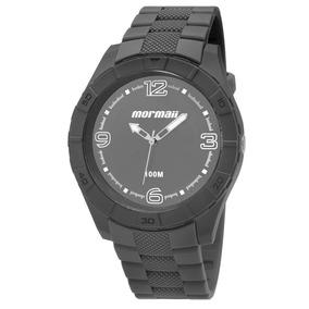 Relógio Masculino Mormaii Mo2035fg/8c 48mm Cinza
