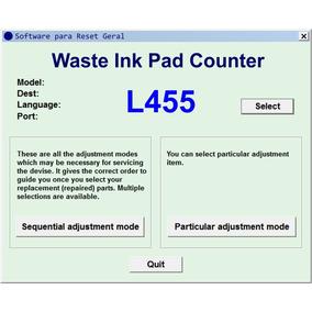 Software De Ajustes E Reset Para Epson L455