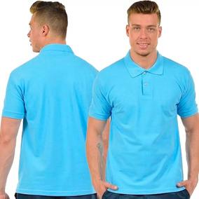 Kit 5 Camisas Polo Masculina Camiseta Gola Atacado Uniforme