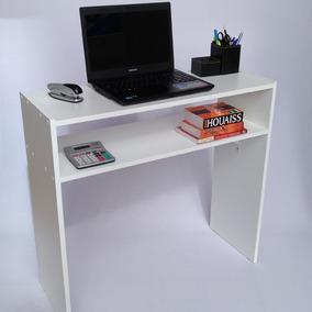 Mesa Para Notebook Multiuso Com Prateleira Escrivaninha