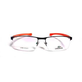 5383d681fb52c Armação Para Óculos De Grau Lacoste - Óculos no Mercado Livre Brasil