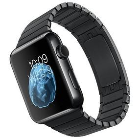 4c2b6d8d988 Pulseira Kopeck Aço Inox Preto Apple Watch 42 44mm Série 3 4
