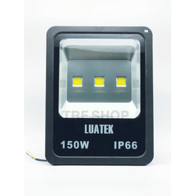 Refletor Led 150w Holofote Ip 66 Bivol Luatek Lk-ww-150w