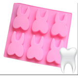 Molde De Silicon Muela Diente Dentista