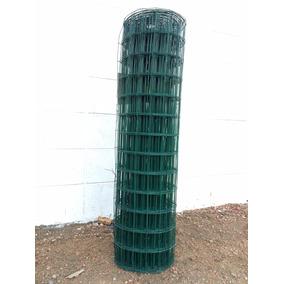 Malla Electrosoldada Plastificada Rollo 1.50 X 25 (37.5 Mt2