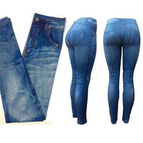 Leggins Tipo Gruesa Pantalón Jeans Tela Oferta AHqHxO8pw