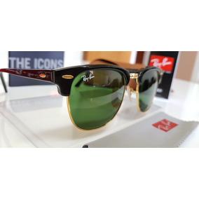 eefe836dfbaa6 Ray Ban Rb3016 Classic Clubmaster Sunglasses - Óculos no Mercado ...