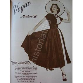 Publicidad Antigua Boutique Vogue Tienda De Ropa 1948 1ea9a54d0179