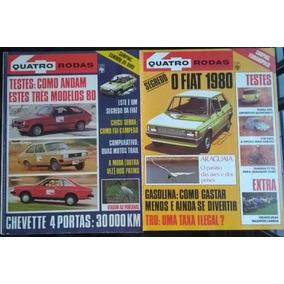 Coleção Revista 4 Rodas Década De 70
