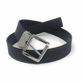 Cinturón Michael Kors Para Dama Reversible Negro Monograma G