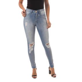 Calça Jeans Osmoze Mid Rise Skinny Azul