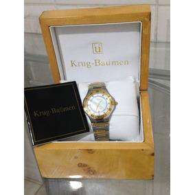 53c43fb045c Relogio Krug Baumen - Relógios De Pulso no Mercado Livre Brasil