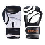 Luva Muay Thai - Luva De Boxe Profissional 12 Oz - Gorilla