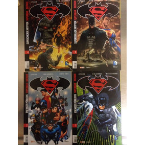Lote De Revistas Batman - Superman Nros 1-2-3-6-7-10-11-12