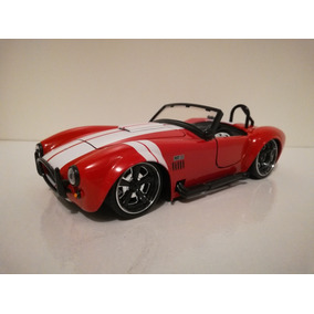Miniatura Shelby Cobra 427 S/c 1965 - Bigtime Jada Toys 1/24