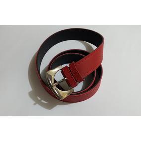 Cinturón De Mujer Color Rojo 878278737f7d