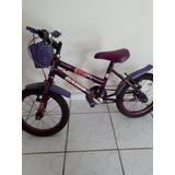 Bicicleta Aro 14 Feminina Infantil