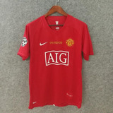 Camisa Nike Manchester United 2007 Ucl