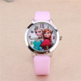 ad7b06ec35 Relogio Alarme Elsa E Anna Frozen - Relógios no Mercado Livre Brasil
