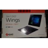 Exo 2 En 1 Notebook + Tablet Wings