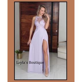 0847c0811 Vestido Dama Lila Fiestas Vestidos De Noche Largos Mujer - Vestidos ...
