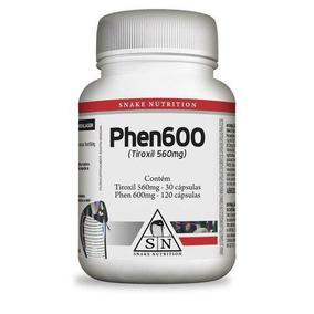Emagrecedor Termogênico Phen600 150 Cápsulas