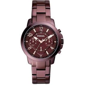 Relógio Fossil Feminino Ref: Es4136/4nn Chocolate