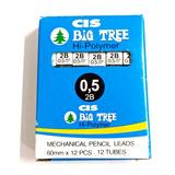 Grafite Big Tree Cis 0.5mm 2b Caixa Com 12 Tubos