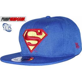 Gorra Dc Comics Superman Logo - A Pedido exkarg 72b959c8bba
