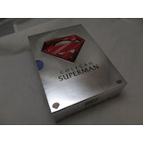 Lote Box Batman E Superman Bluray E Dvd Trilogia